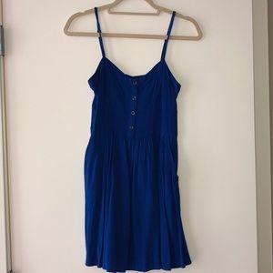 Blue casual mini dress!